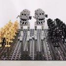 Star Wars All Terrain Scout Transports and Battle Droids Block Figures Set SWAT-ST
