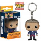 Doctor Who Twelfth Doctor Funko Pocket POP Keychain Action Figure Minifigure Toy