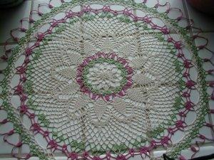 Crochet Pineapple Doily MUST SEE