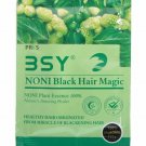BSY Noni Black Hair Magic Color Shampoo Ammonia Free Natural Shine Color 12 ml