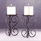 Elegant Metal Candleholders