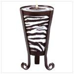 Zebra Pattern Drum-shape candle