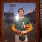 ROLLIE FINGERS SIGNED 8X10 PHOTO WITH PERSONALIZED PLAQUE CERT AUTOGRAPH - BDC