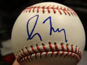 Greg Maddux Autographed Signed Official Major League Baseball (GAI)