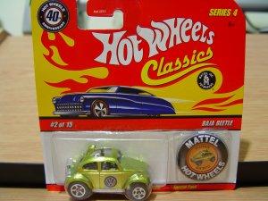 Hot Wheels 40th Anniversary Baja Beetle SERIES 4
