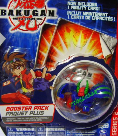 Bakugan Blue Gargonoid Series 2 @Not in Production@ Very Rare