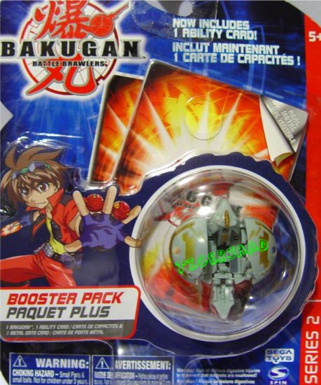 Bakugan Gray Hynoid Series 2 @Not in Production@ Very Rare