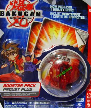 Bakugan Red Hynoid Series 2 @Not in Production@ Very Rare