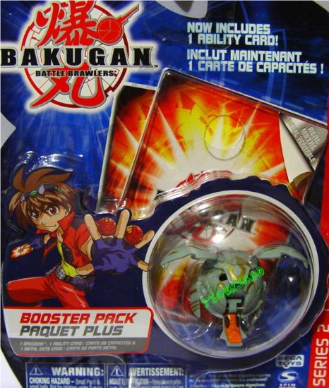 Bakugan Gray Tuskor Series 2 @Not in Production@ Very Rare
