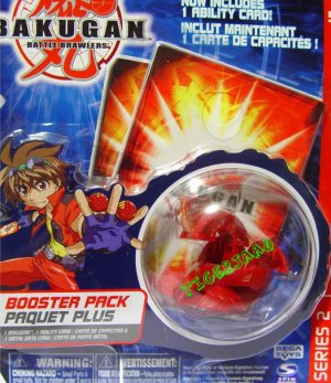 Bakugan RED DRAGONOID Series 2 @Not in Production@ Very Rare