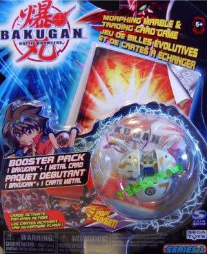 Bakugan GRAY ROBOTALLIAN Series 1 @Not in Production@ Very Rare
