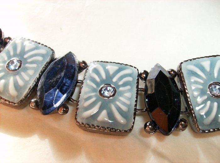 Liz Claibourne Blue Bracelet