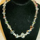 Vintage AB bead necklace