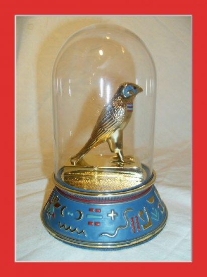 Horus Falcon Egyptian Sculpture Franklinmint