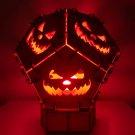 Halloween night lamp, Halloween party decorations, Table Lamp, Modern Lamp, Housewarming Gift