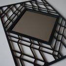 Art Deco Wall Mirror, Decorative Mirror, Unique Wall Art, Modern Hanging Mirror
