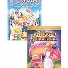 Alice in Wonderland & Alice Through the Looking Glass 2 Pk