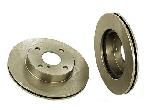 2 Front Brake Discs Rotors 90-93 Mazda Miata