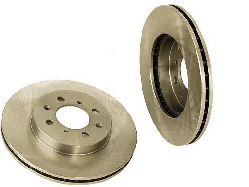 2 new Front Brake Discs Rotors 1990-2001 Acura Integra