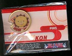 Bleach Kon Enamel Pin