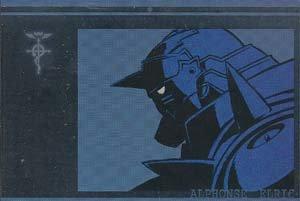 Fullmetal Alchemist Silver Foil Postcard: Al