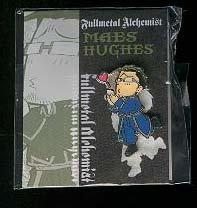 Fullmetal Alchemist Metal Pin: Hughes