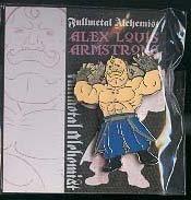 Fullmetal Alchemist Metal Pin: Armstrong