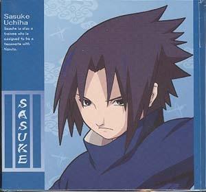 Naruto CD Envelopes: Itachi + Sasuke