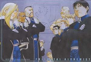 Fullmetal Alchemist Postcard