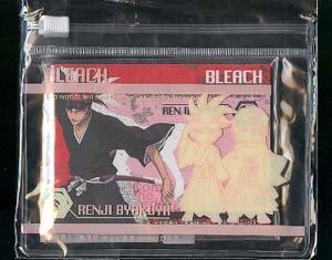 Bleach Mini Notecards with Clear Pouch: Byakuya + Renji
