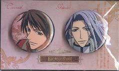 Kyou Kara Maou Set of Two Pin Buttons: Conrad &Gunter