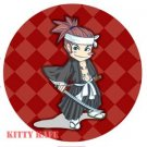 Pin Badge/Button Bleach: Renji (501)
