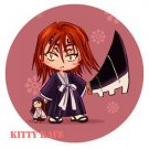 Pin Badge/Button Bleach: Renji (Angel)