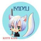 Pin Badge/Button Final Fantasy Advent Children: Kadaj (Angel)