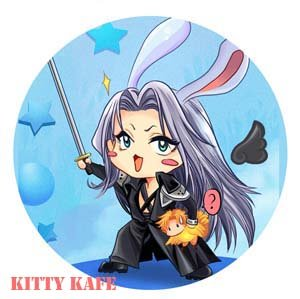 Pin Badge/Button Final Fantasy 7: Sephiroth (Angel)