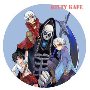 Pin Badge/Button Devil May Cry: Group (Ulrica)