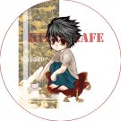 Pin Badge/Button Death Note: L Version 1
