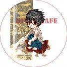 Pin Badge/Button Death Note: L Version 1