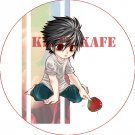 Pin Badge/Button Death Note: L Version 2