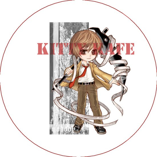 Pin Badge/Button Death Note: Light Version 1