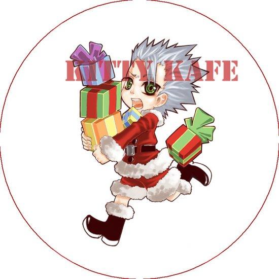 Pin Badge/Button Bleach: X-Mas Hitsugaya (Zen)