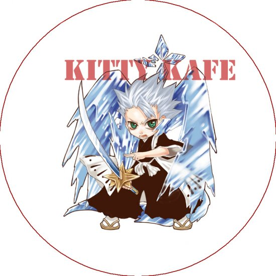 Pin Badge/Button Bleach: Hitsugaya (Zen)