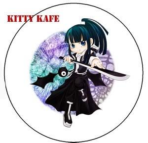 Pin Badge/Button D. Gray-man: Kanda (Yo)
