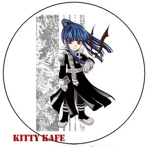 Pin Badge/Button D. Gray-man: Kanda (Zen)
