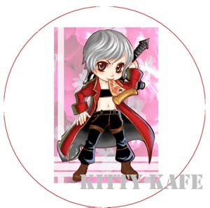 Pin Badge/Button Devil May Cry: Dante (Zen)