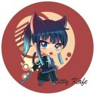 Pin Badge/Button D. Gray-man: Kanda (Angel)