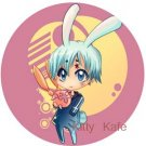 Pin Badge/Button D. Gray-man: Allen (Angel)