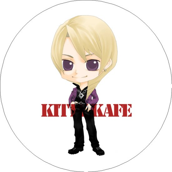 Pin Badge/Button Gyakuten Saiban 4/Apollo Justicet: Klavier/Kyouya (Ice Tree)