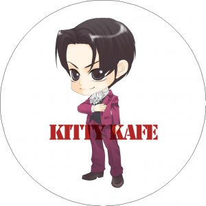 Pin Badge/Button Gyakuten Saiban/Phoenix Wright: Miles/Mitsurugi (Ice Tree)