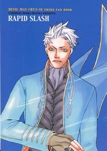 Devil May Cry 3 Shonen ai Doujinshi VergilXDante